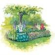 База отдыха Снежинка - иконка «сад» в Поспелихе